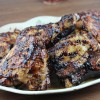 grilled chicken with balsamic barbeque sauce