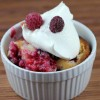 fresh raspberry desert recipe picture