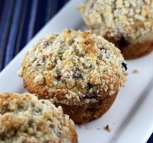 jumbo blueberryraspberry muffins