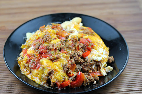 Beef and Cheddar Casserole recipe