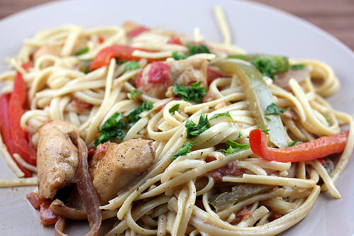 Linguine Cajun and Chicken Recipe