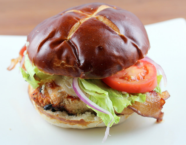 grilled pepper jsck chicken burgers recipe