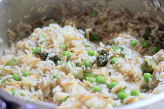 chicken and rice mixture