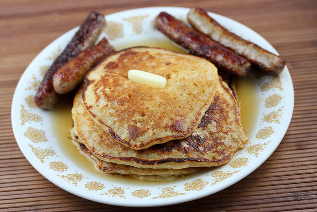 Gramcracker pancakes recipe