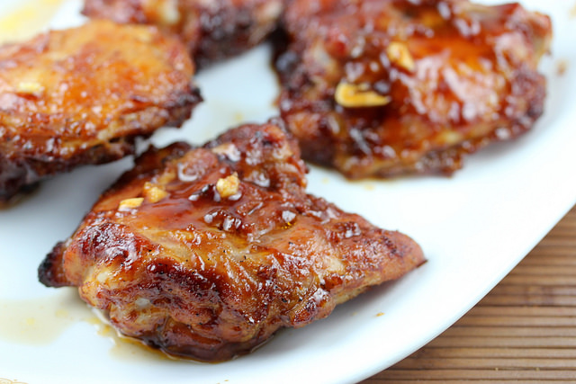 bbq chicken thighs recipe