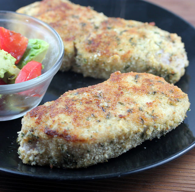 Italian Breaded Pork Chops | Free Delicious Italian Recipes | Simple ...