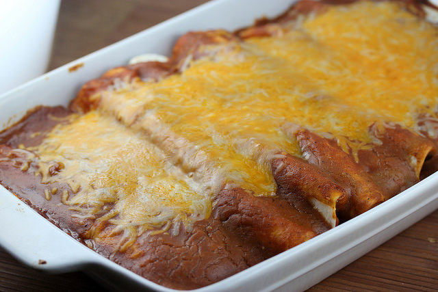 Garlic Beef Enchiladas Recipe Cully S Kitchen