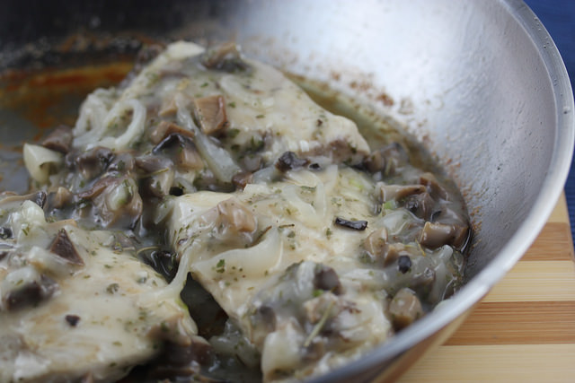 french country chicken with mushroom sauce picture 2