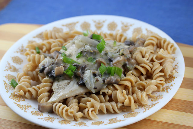 french country chicken with mushroom sauce recipe