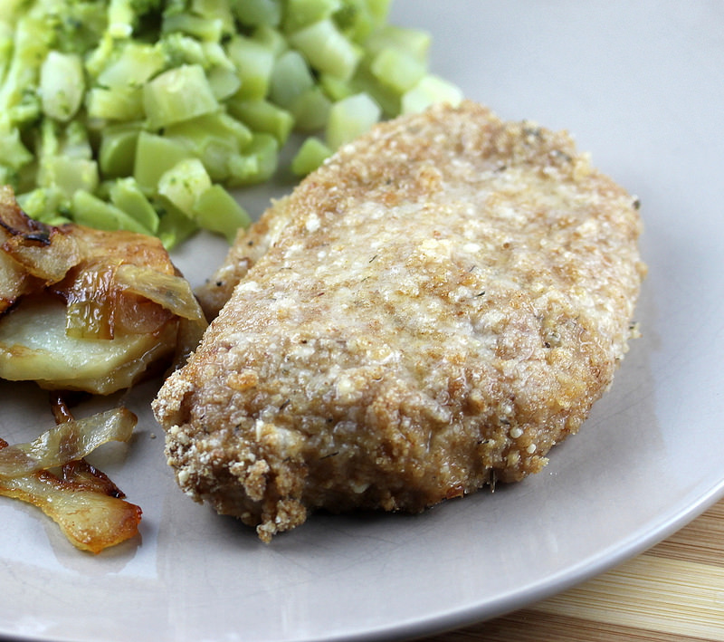 breaded pork chop recipe