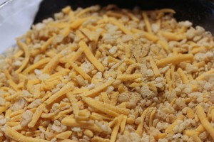 cereal and cheese coating mix