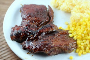 chinese BBQ pork steak recipe recipe
