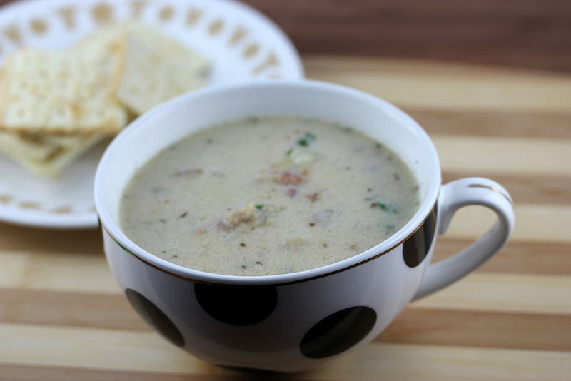 Easy Clam Chowder for Two | Free Delicious Italian Recipes | Simple ...