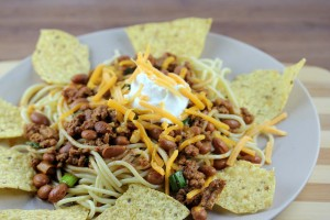 Spaghetti with Quick Turkey Chili Recipe 2