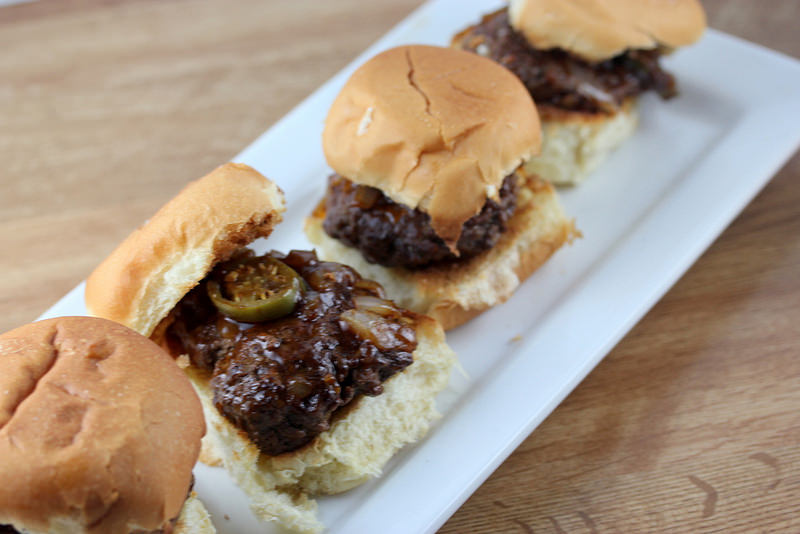 Spicy Whiskey BBQ Sliders Recipe — Dishmaps
