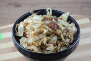fried cabbage picture 2