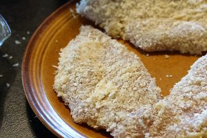 breading parm chicken