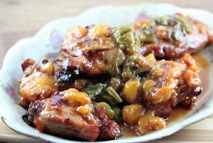 Peach-Glazed Grilled Chicken recipe