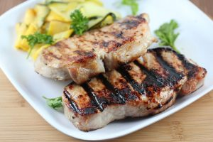 simple grilled pork chops recipe