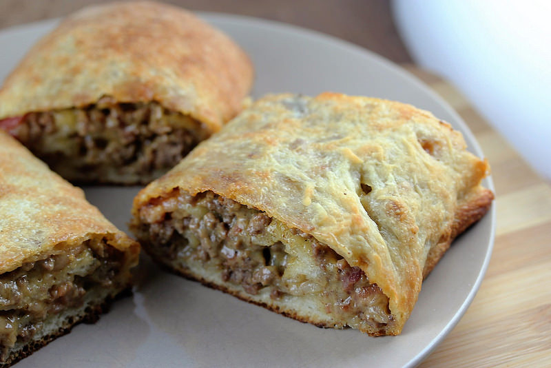 Bacon Cheeseburger roll up recipe