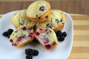blackberry muffin picture recipe
