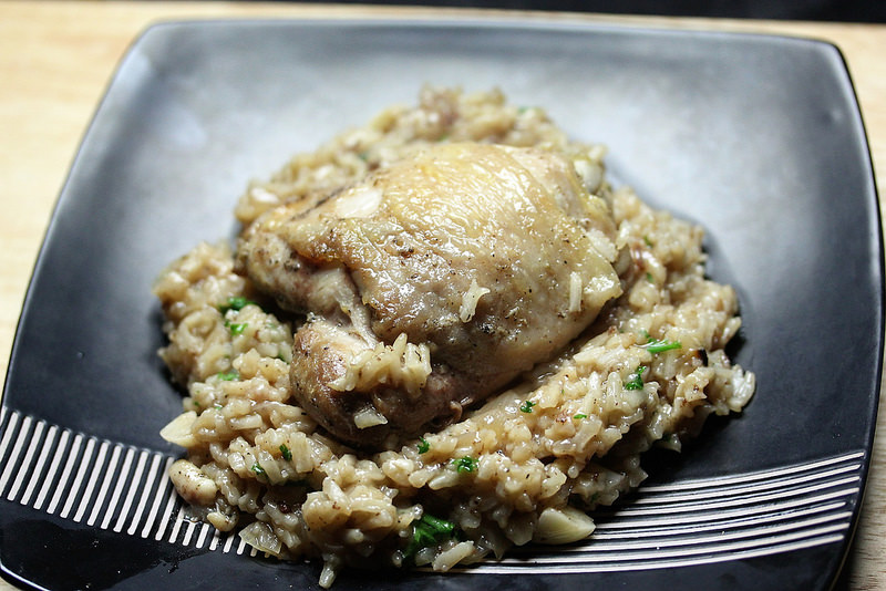 chicken and rice for 2 recipe
