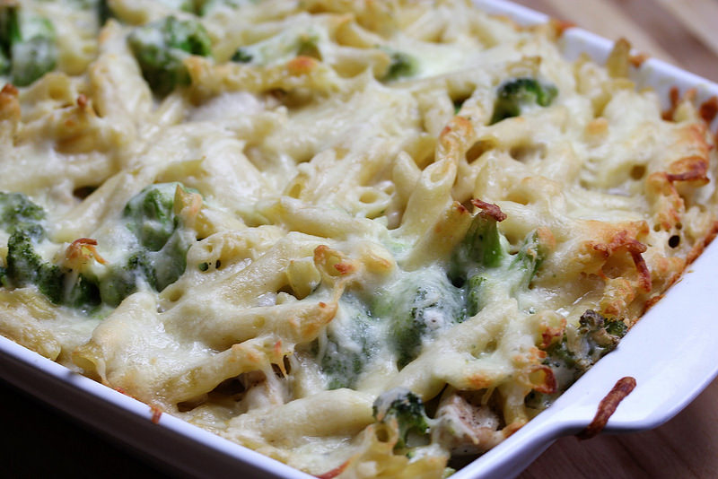 Chicken Alfredo Penne Casserole Recipe picture 2