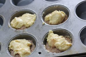 Coffee Cake Muffins for 2 prep 3