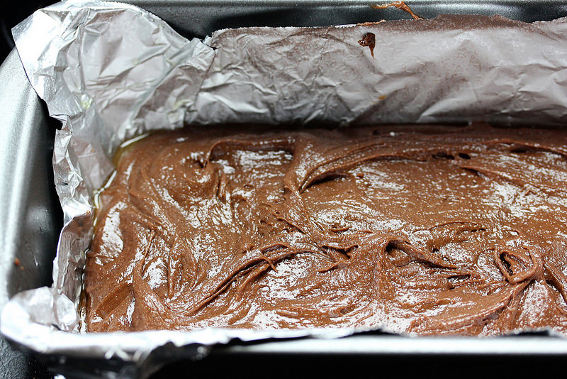 Fudge Brownies for Two prep 5