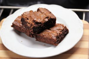Fudge Brownies for Two recipe picture