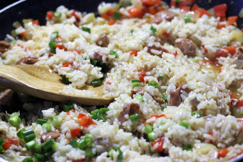 Pork chops with dirty rice recipe picture 2