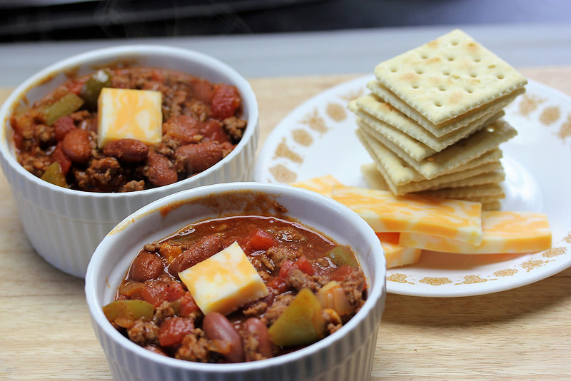 classic chili for 2 recipe picture