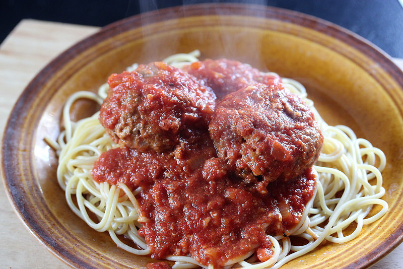 Slow Cooker Meatballs and Marinara recipe picture 2