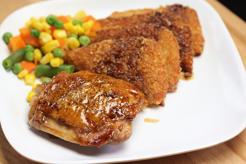 Teriyaki Chicken for Two recipe picture
