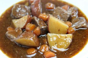 beef stew for two recipe picture