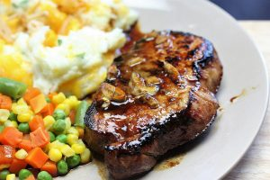 Korean pork chop recipe picture
