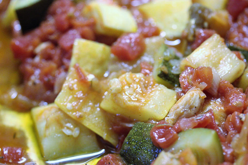 Ratatouille with Chicken recipe picture 2