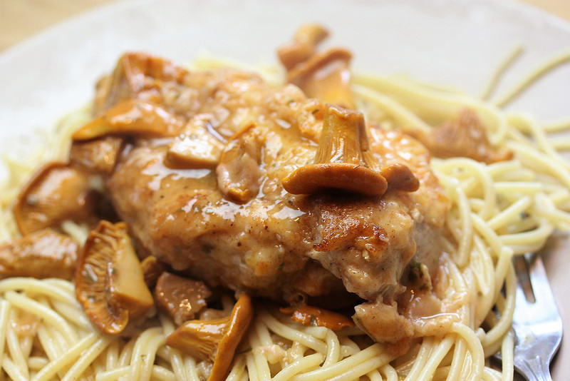 Chicken Marsala with Chanterelle Mushrooms recipie 2