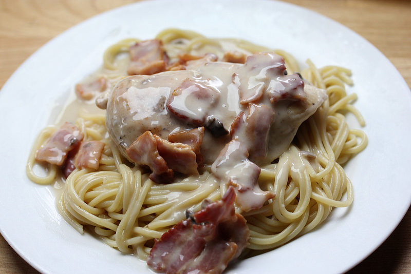 chicken and bacon recipe picture
