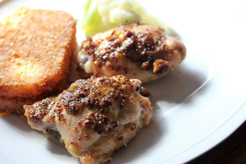 maple mustard chicken recipe picture