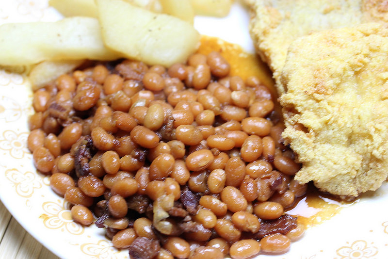 instant pot baked beans recipe picture