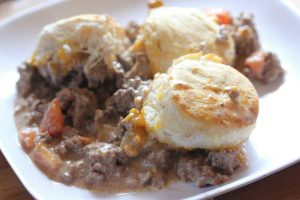 burger casserole recipe picture