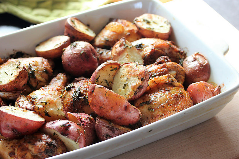 chicken and potatoes recipe picture