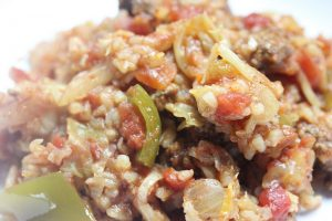 green pepper rice recipe picture
